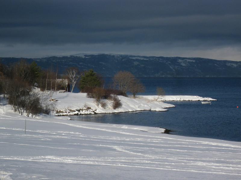 Rotvollfjæra on the Trondheimsfjord