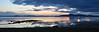 Kveldsstemning, Tronsheimsfjorden mot Frosta
