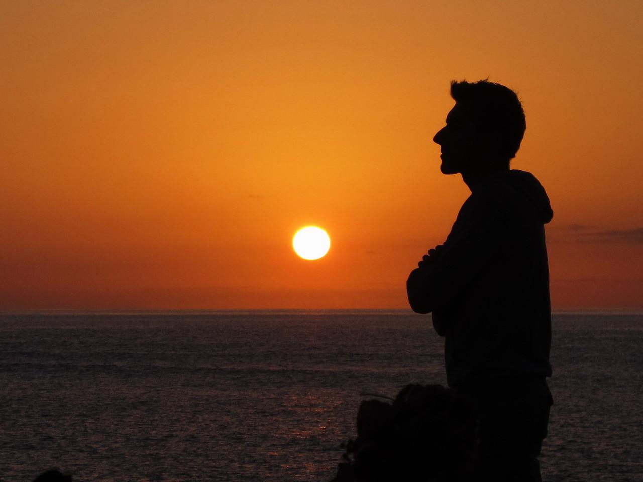 Solnedgang Lanzarote
