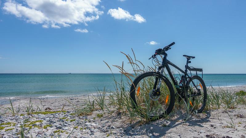 Sykkel med på ferietur