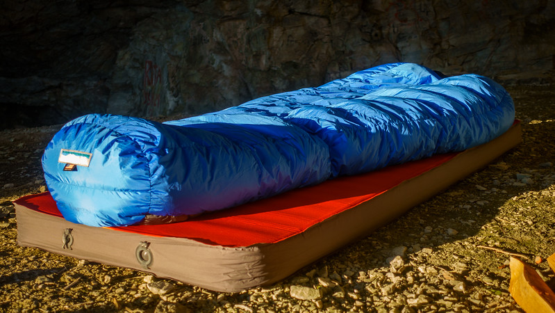 Sovepose og underlag