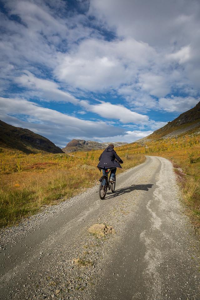 Jordalen, sykkel, høst