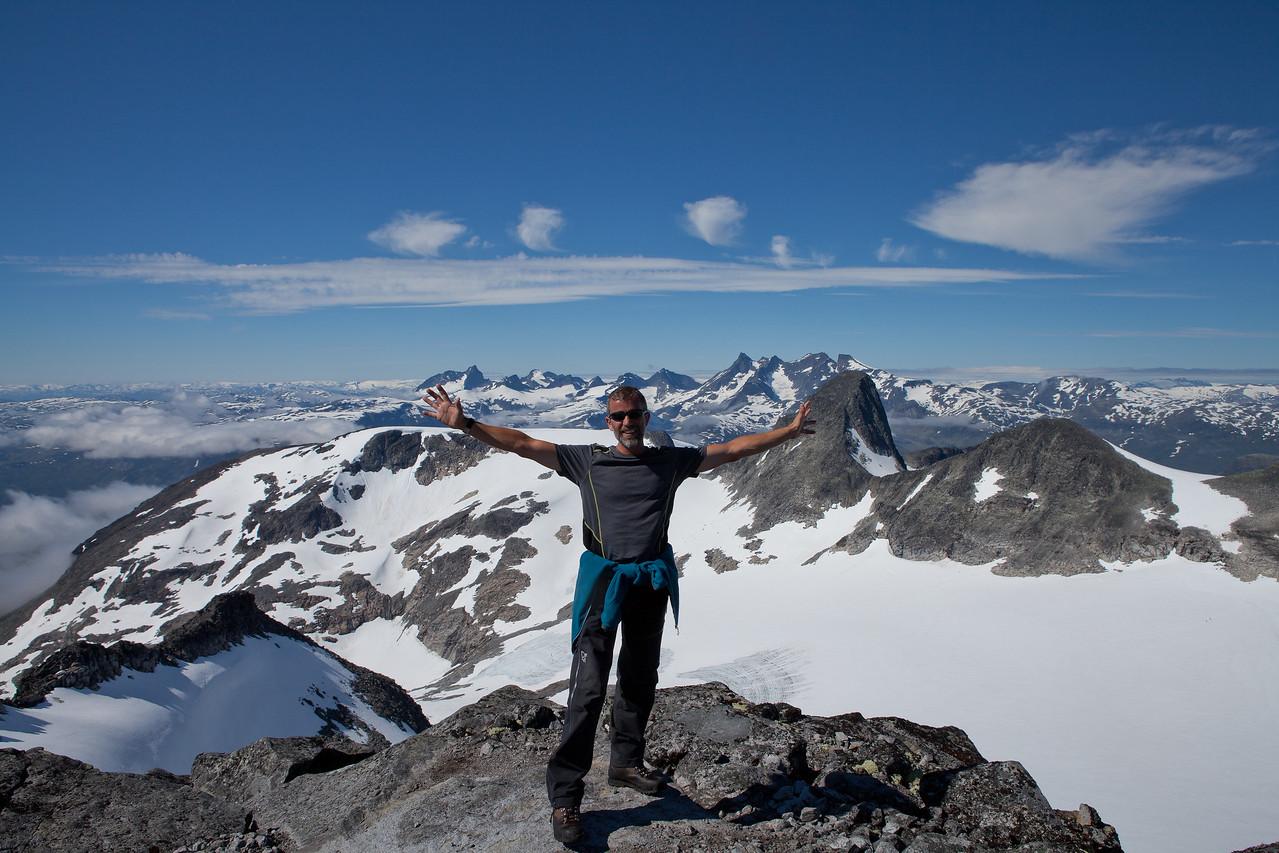 Første 2000 metertopp