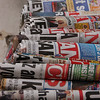 Newsstand, Istiklal Caddesi, Istanbul, Turkey.