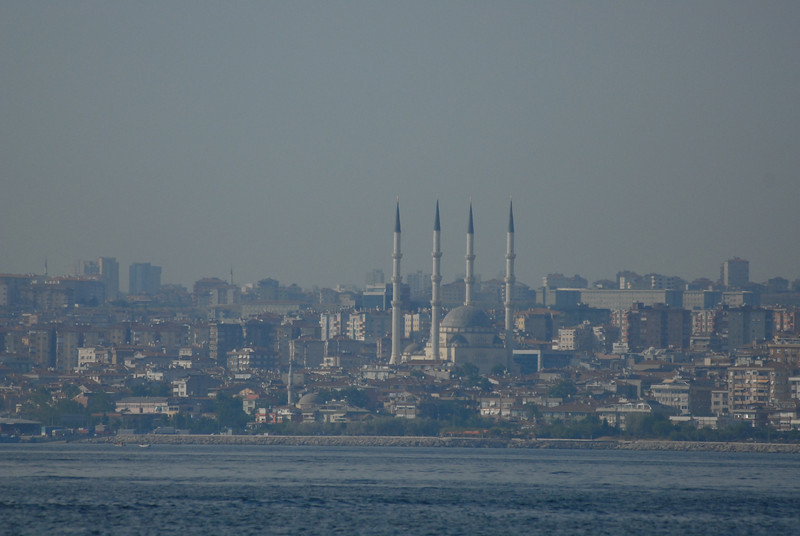 Turkey's Asian shore from the Princes Islands, Turkey.