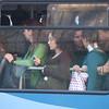 Mass transit - crowded bus, Istanbul, Turkey.