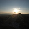 Balloon at sunrise, Cappadocia, Turkey.