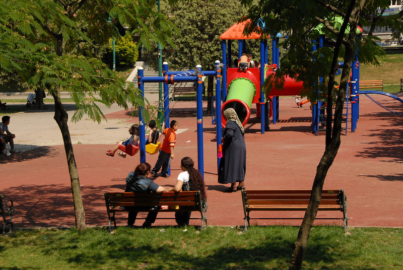Playground, Istanbul, Turkey.