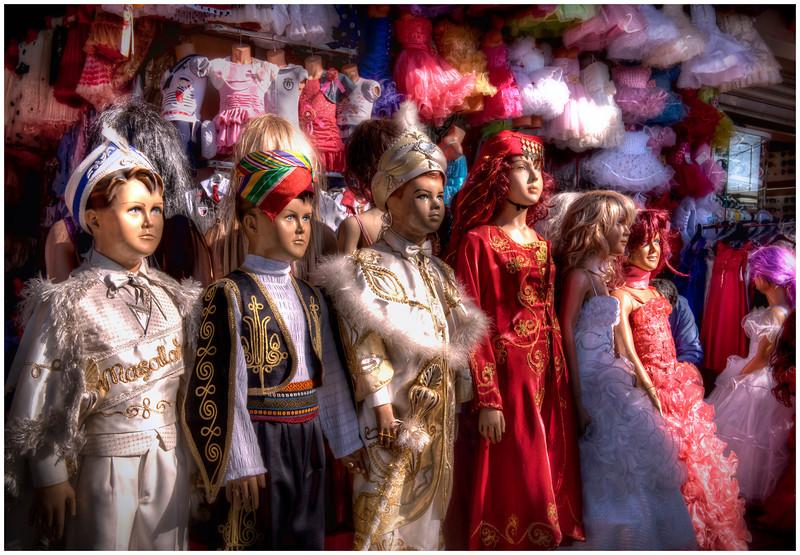 Outside the Grand Bazaar, Istanbul, Turkey.