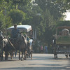 There are no cars on the Princes Islands in Turkey. Transport is by horse and carriage.