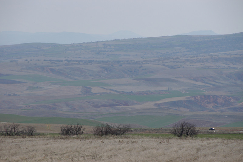 The plains west of Nevsehir, Turkey.