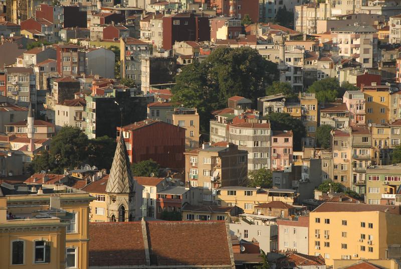 Detail of Begolyu district, Istanbul, Turkey.