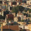 Detail of Begolyu district, Istanbul, Turkey.
