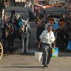 Street scene, Buyukada Island, Turkey.