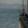 Fisherman, Buyukada, Princes Islands, Turkey.