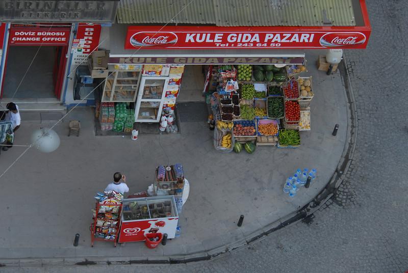 Kule Gida store, Galata, Istanbul, Turkey.