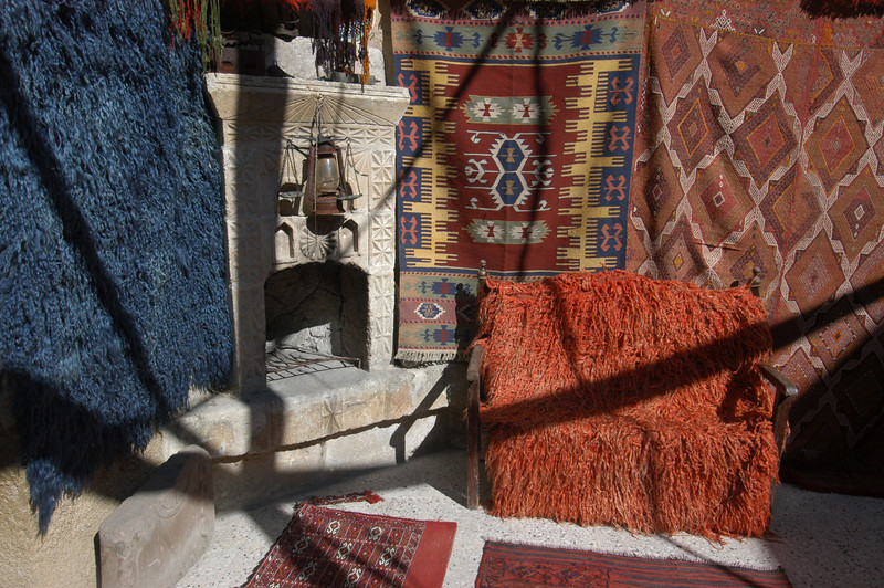 Interior of Galerie Ikman, Goreme, Cappadocia region of Turkey.