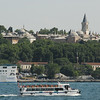 Topkapi Palace and Golden Horn, Istanbul, Turkey.
