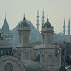 Rooftop detail, Istanbul, Turkey.