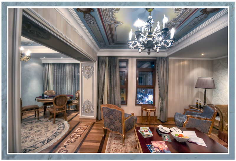 The Presidential suite, Istanbul, Turkey.
