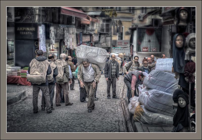 Day Labor, Istanbul, Turkey.