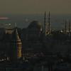 Nightfall on the Sea of Marmara, Istanbul, Turkey.
