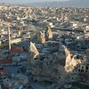 Aerial view of Goreme, Turkey.