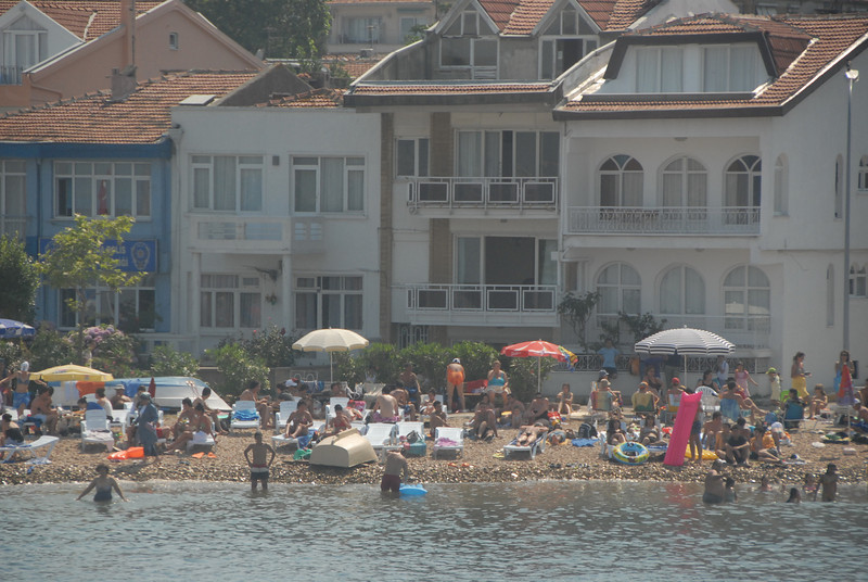 Holiday beach, Turkey.