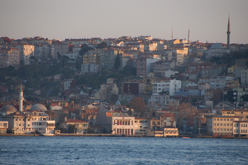 Kuzguncuk district, Uskudar, the Asian side of Istanbul, Turkey.