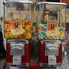 They're only 50 Kurus. Gum ball machines, Istanbul, Turkey.