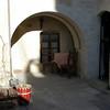 Courtyard detail, Cappadocia Cave Suites Hotel, Goreme, Turkey