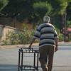 A man and his furniture. Buyukada, Turkey.