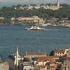 Topkapi Palace on the hill, Sultanahmet, Istanbul, Turkey.