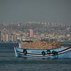 The Deniz Damlazi, with cargo, Istanbul, Turkey.