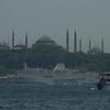 Topkapi Palace and minarets, Istanbul, Turkey.