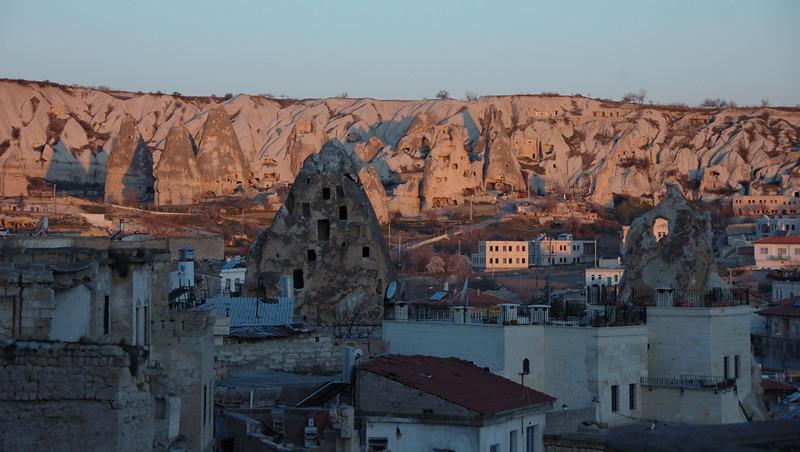 Cappadocia, Turkey at dawn.
