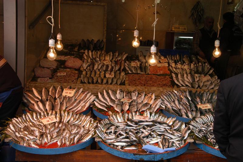 Fresh fish, Princes Islands, Turkey.