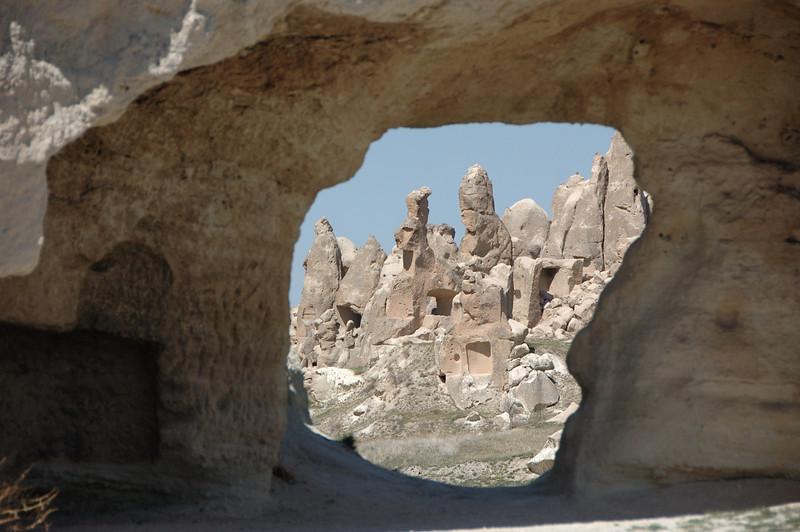 Cappadocia, near the town of Goreme, Turkey.