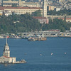 Maiden's Tower, Bosphorus Strait, Istanbul, Turkey.