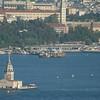 Maiden's Tower, Bosphorus Strait, Istanbul, Turkey.