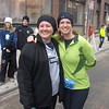 Cheryl and I after the run.  She is GREAT!
