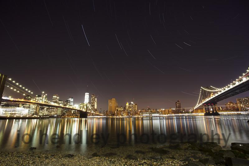 Manhattan Star trails