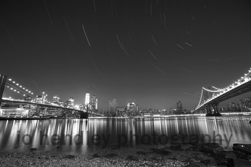 Manhattan Star trails