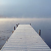 twin lakes fall mist dock