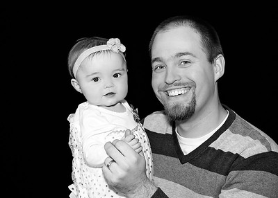Em and Daddy Closer bw (1 of 1)