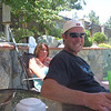 Christer came to CA for vacation (why, I can't tell ya, it's 500 degrees here) anyway, his friends from Youth Group threw him a BBQ homecoming party!!  That's Charamie in the background