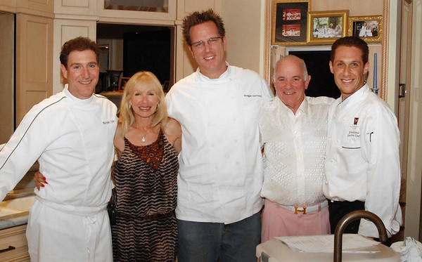 Two Singers & Three Chefs