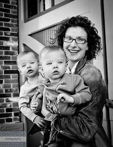 Kate and Boys, diff crop bw (1 of 1)