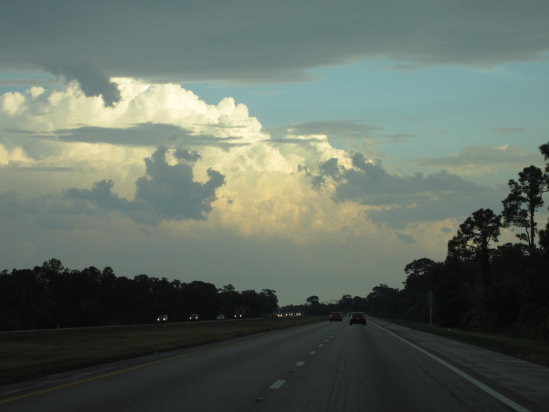 I95 heading north.