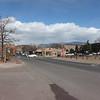Walking from my hotel to Santa Fe Plaza